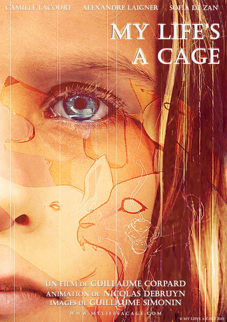 Affiche-My Life's a Cage-The aiM