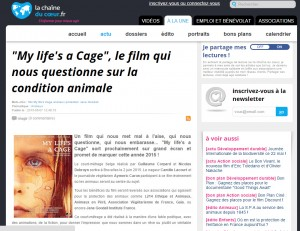 La Chaîne du coeur - My Life's a Cage