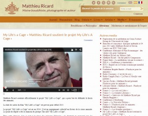 Matthieu Ricard - My Life's a Cage