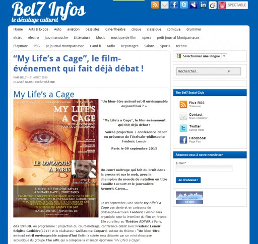 BEL7INFOS - My Life's a Cage