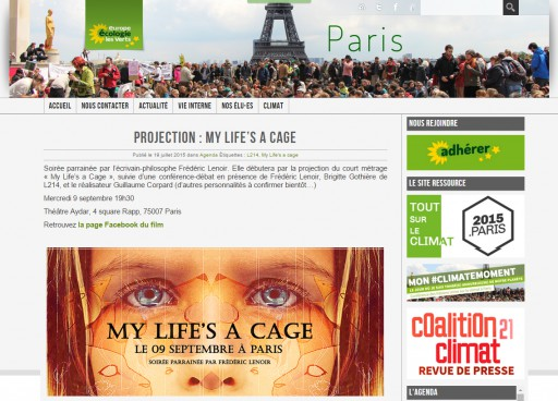 EUROPE ECOLOGIE LES VERTS - aout 2015