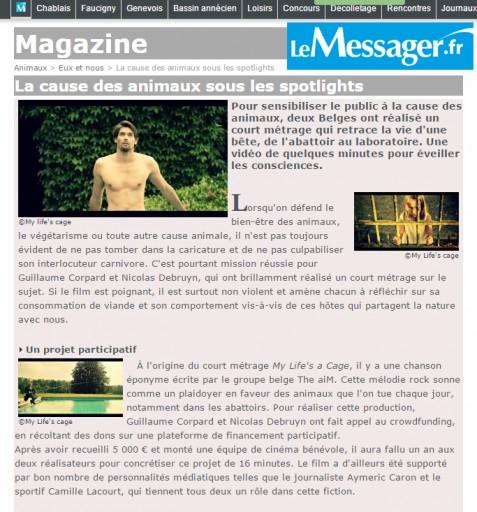 Le MESSAGER- aout 2015
