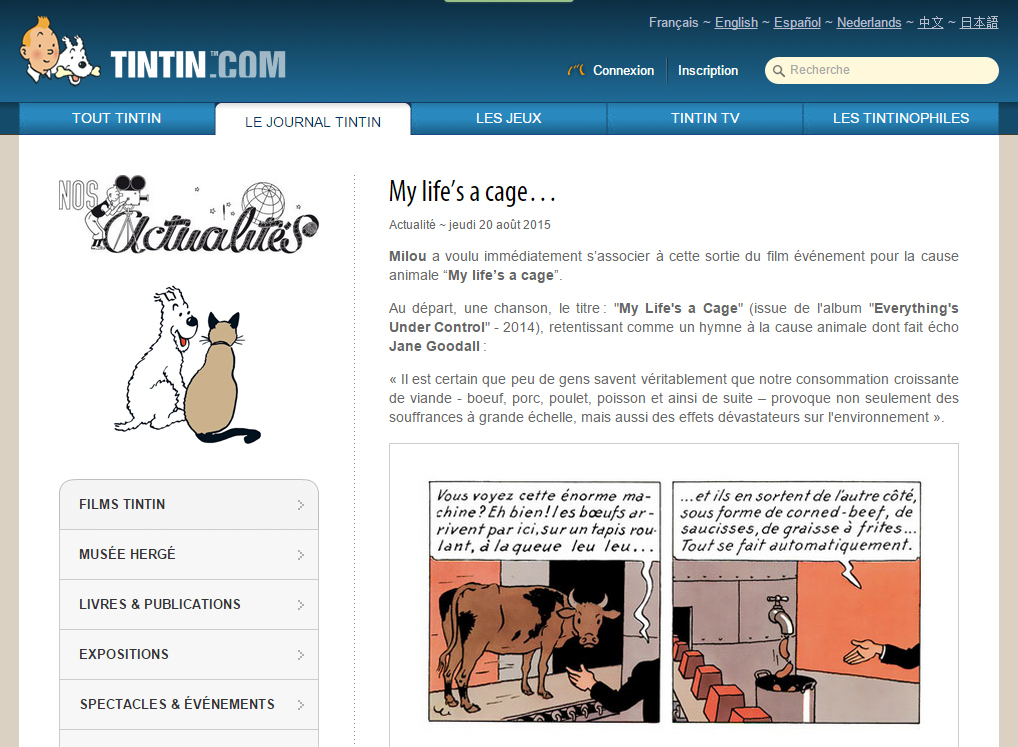 http://fr.tintin.com/news/index/rub/0/id/4483/0/my-life-s-a-cage